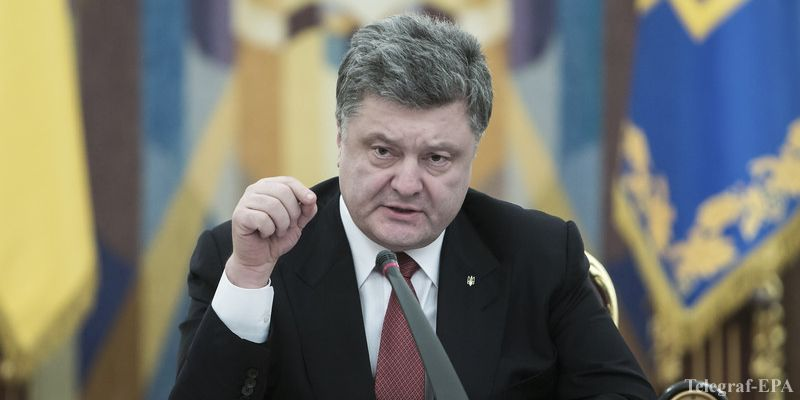 Порошенко: Россия не будет участвовать в миротворческой миссии