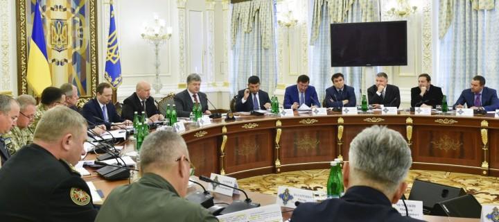 Порошенко ввел в действие решение СНБО о биометрическом контроле для иностранцев на границе